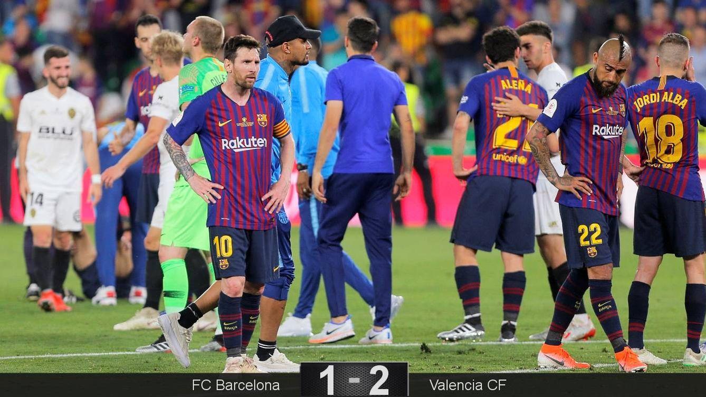 Messi salvó a Valverde tras Anfield, pero la final de Copa vuelve a señalarle