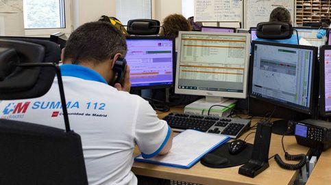 SOS del 061: Hay horas de la noche con un solo operador para todo Madrid