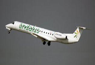 Foto: Andalus airlines, investigada por Fomento y financiada por la Junta, busca inversores para sobrevivir