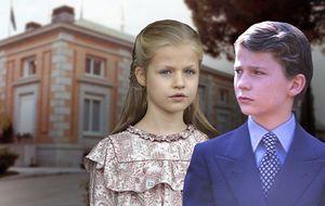 Leonor cumple nueve años llevando una vida muy distinta a la de su padre