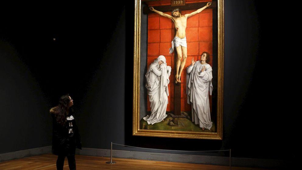 Rogier Van der Weyden sale vivo del Calvario