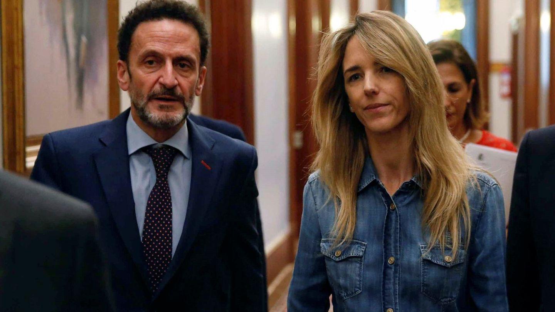 Los portavoces de Ciudadanos, Edmundo Bal, y PP, Cayetana Álvarez de Toledo. (EFE)