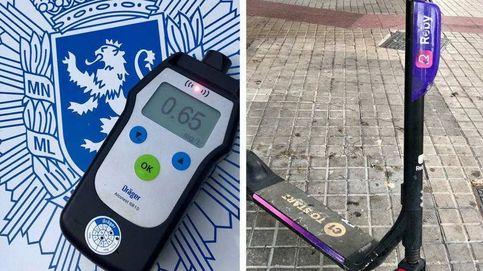 Mil euros de multa a la conductora de un patinete por ir borracha por Zaragoza