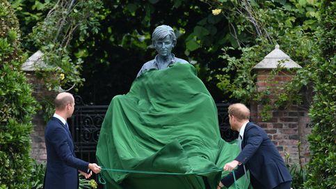 Guillermo y Harry, unidos de nuevo gracias a la estatua de Lady Di: su reencuentro