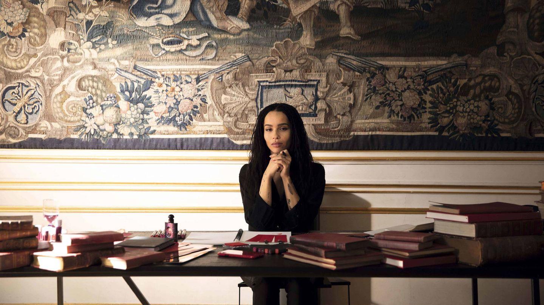 Zoe Kravitz, en una imagen promocional de Yves Saint Laurent.