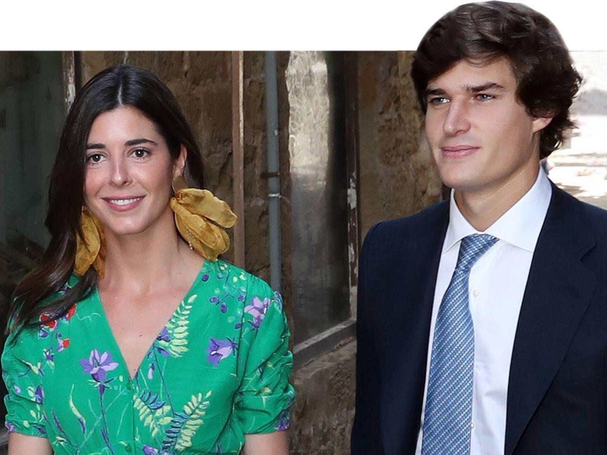 Foto: Belén Corsini y Carlos Fitz-James, duque de Osorno. (Gtres)