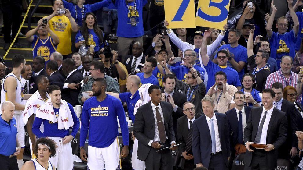 Los Warriors de Curry ya miran a los Bulls de Jordan por el espejo retrovisor
