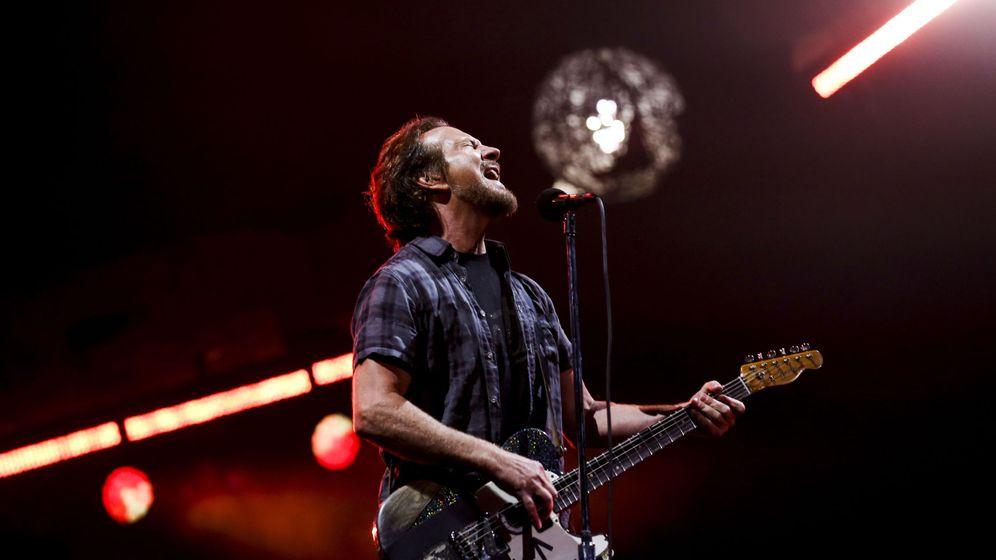 Foto: Eddie Vedder en un concierto en Portugyal en 2018 (EFE)