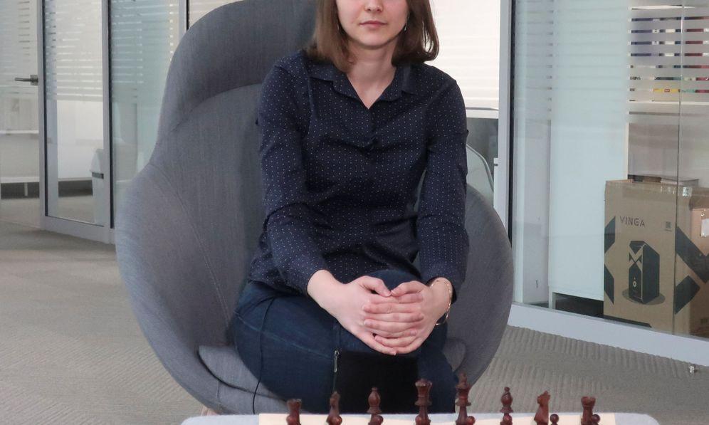 Foto: La campeona de ajedrez Anna Muzychuk (Reuters)