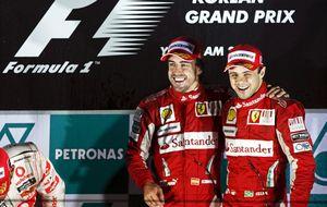 Felipe Massa: A Fernando Alonso y a mí nos dolió nuestra separación