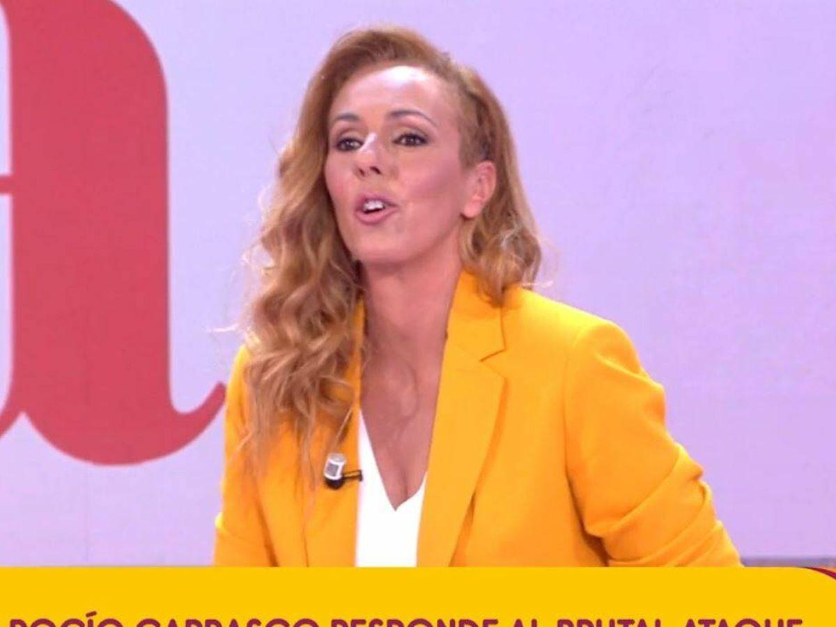 Foto: Rocío Carrasco en 'Sálvame'. (Mediaset España)