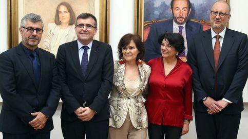 Carmen Calvo se desplazará a Valencia para coordinar con Puig la llegada del Aquarius