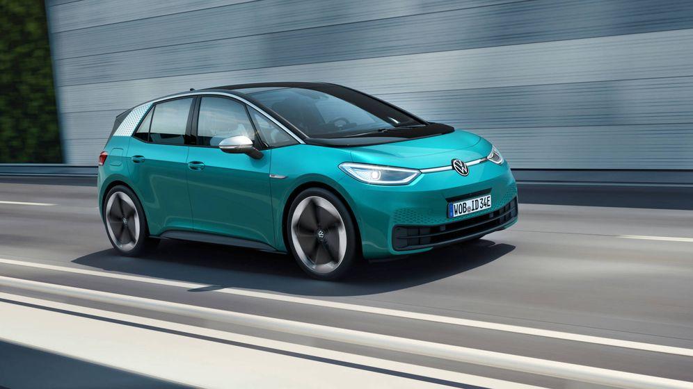 Foto: El ID.3 es el futuro del automóvil de Volkswagen