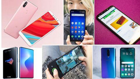 Los mejores móviles chinos del año para no dejarte un dineral en tu nuevo 'smartphone'