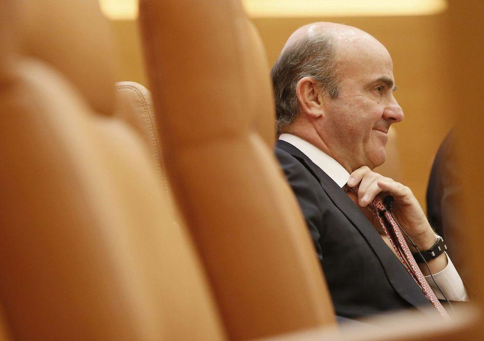 Foto: El ministro de Economía, Luís de Guindos