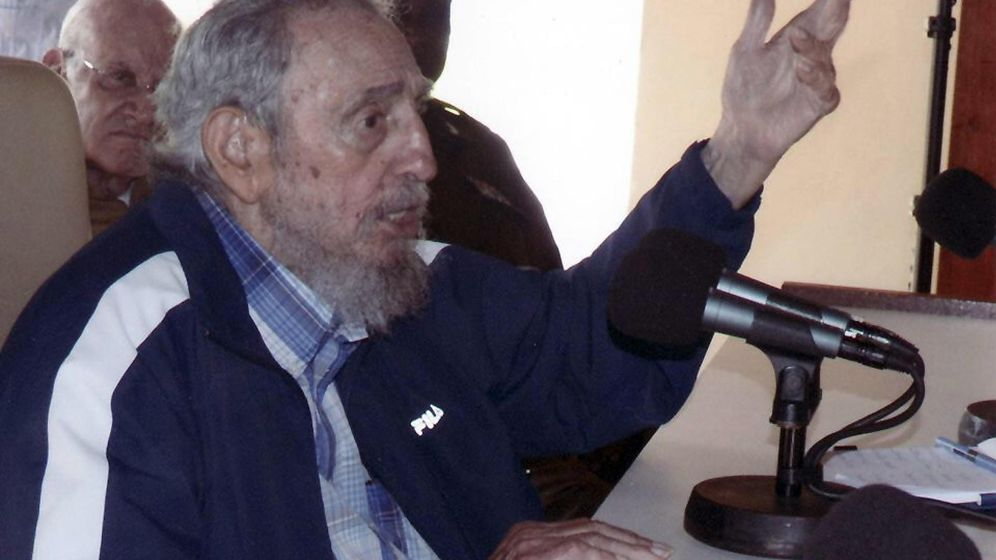Foto: Fidel Castro en un acto público celebrado el pasado 9 de julio en La Habana. (Efe)