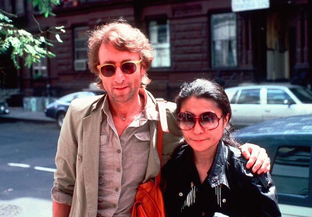 Foto: John Lennon y Yoko Ono. (AP)