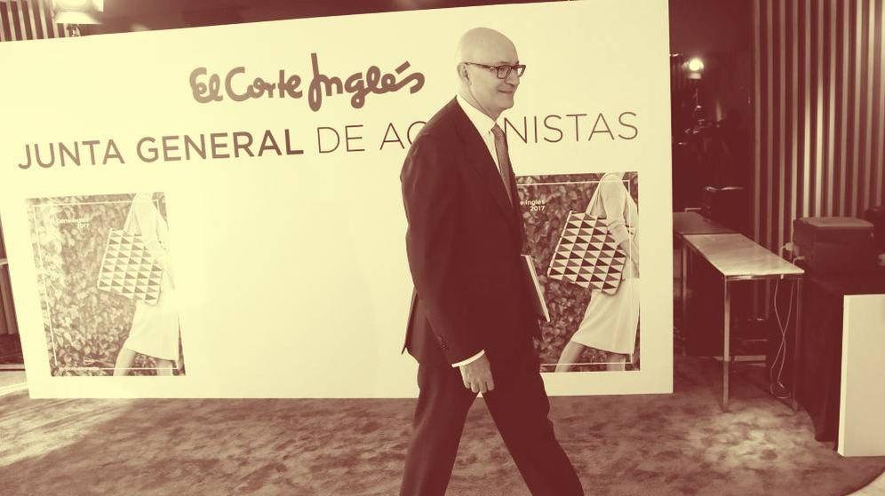 Foto: El presidente de El Corte Inglés, Nuño de la Rosa. (EFE)