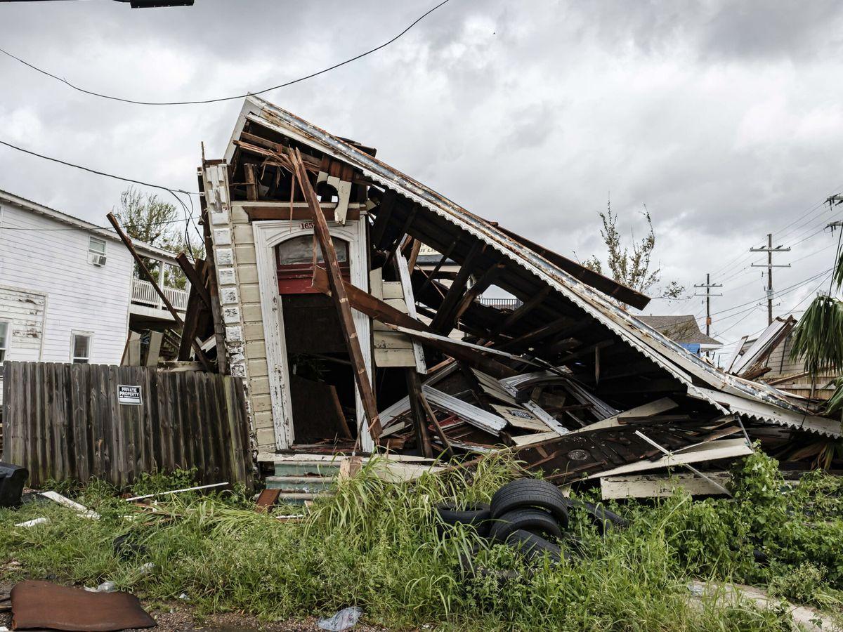 Foto: Impacto del huracán Ida en Luisiana (Estados Unidos). (EFE)