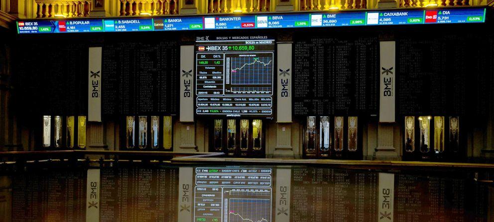 Ni 1, ni 2, ni 3… el Ibex vive su mejor semana en 28 meses de la mano de Draghi