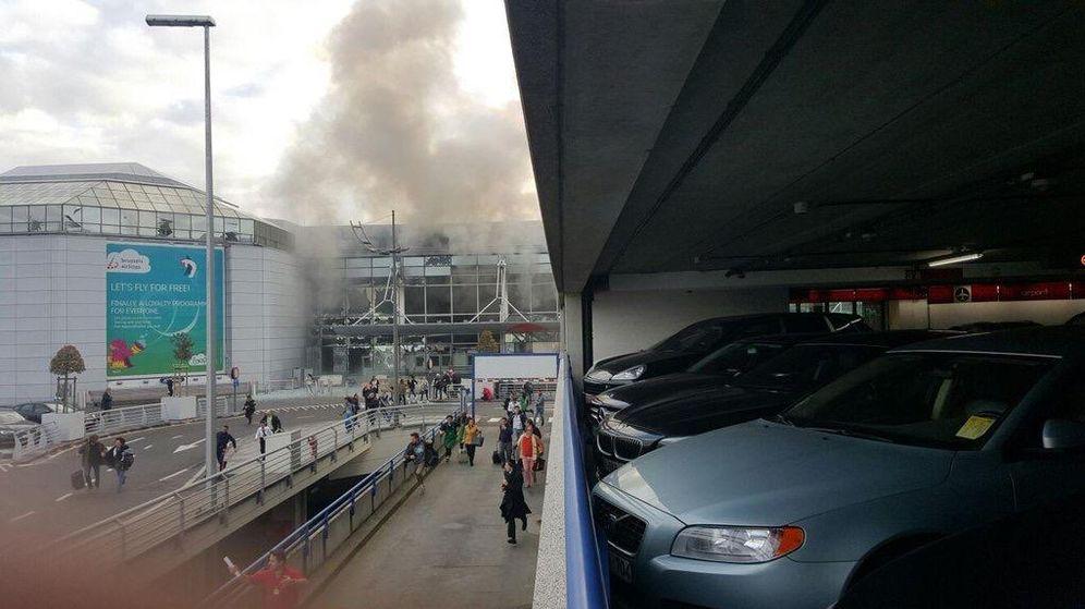 Foto: Imagen del exterior del aerupuerto de Bruselas publicada por Airlive.net
