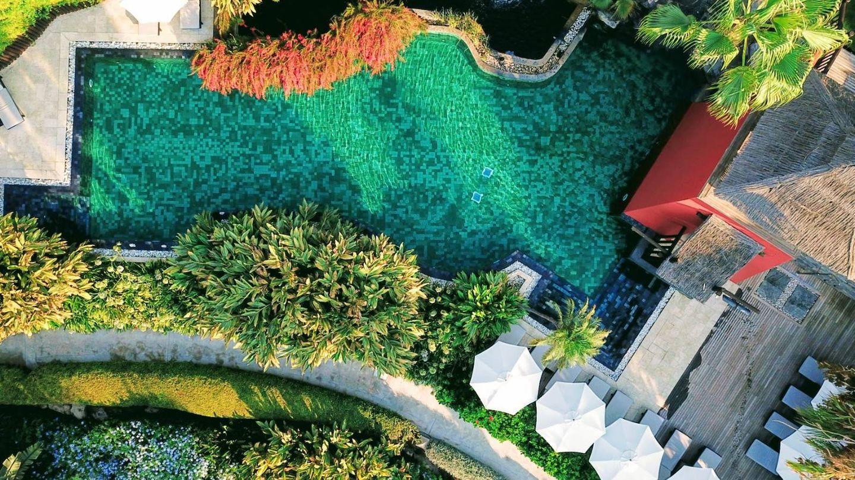 El Asia Gardens es así de lujoso y de tailandés. (Cortesía)