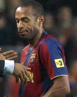 El Barcelona estará sin Henry ni Abidal en Valladolid