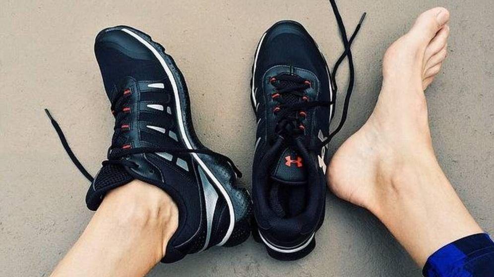Foto: Cómo funciona el pie en los corredores.