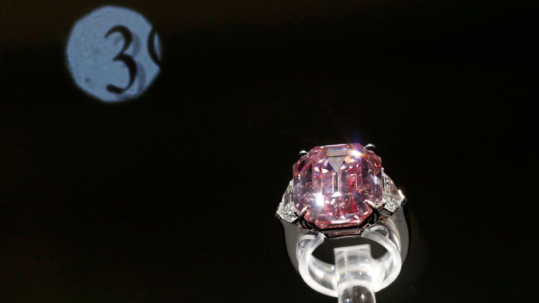 El diamante del Legado Rosa se vende a un precio récord: casi 45 millones de euros