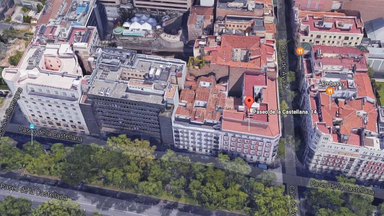 Resultado de imagen de concurso edificio paseo de la castellana 14