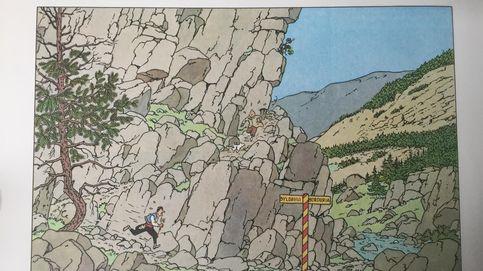 Hergé no quería invandir Polonia