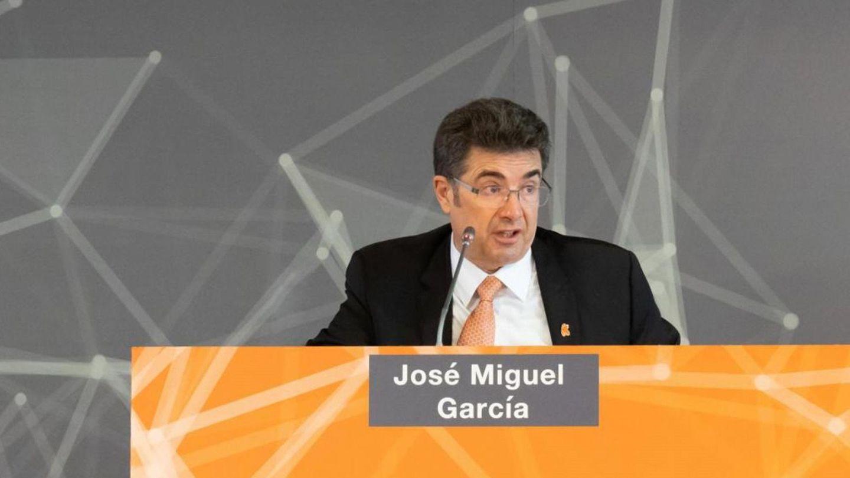 El consejero delegado de la compañía Euskaltel, José Miguel García. (EFE)