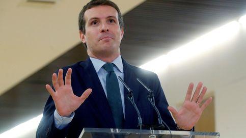 Casado descarta abstenerse en el Congreso y pide hechos a Sánchez en Navarra