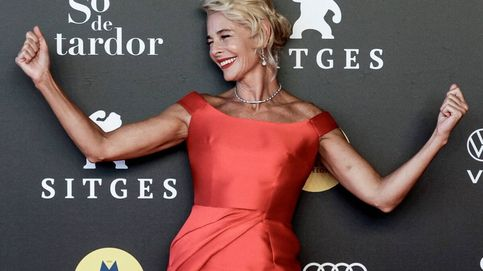 Belén Rueda, despampanante 'woman in red' en el Festival de Sitges del brazo de su novio