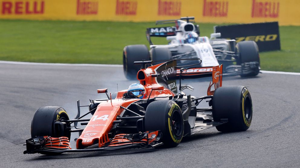 El motor Honda desquicia a Alonso en Spa: El único p... coche que adelantaré