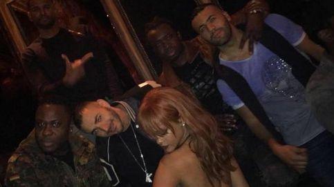 Rihanna y Karim Benzema presentan a sus respectivas familias en Los Ángeles