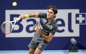 Federer, a tiro de un partido en París para poder estar en Londres