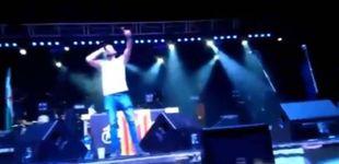 Post de El rapero Valtonyc anima al público de un concierto a matar