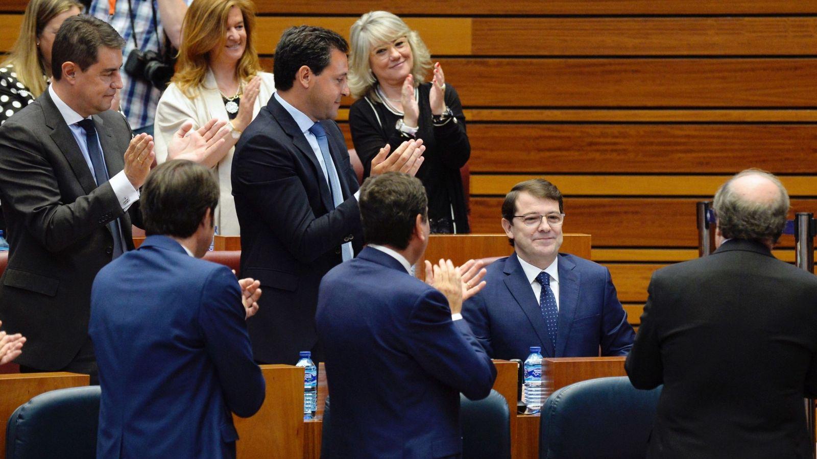 Foto: El candidato del PP a la presidencia de la Junta de Castilla y León, Alfonso Fernández Mañueco. (EFE)