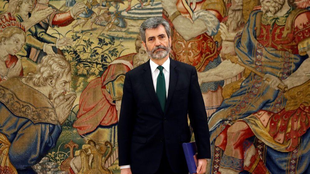 Foto: El presidente del Tribunal Supremo y del Consejo General del Poder Judicial (CGPJ), Carlos Lesmes. (EFE)