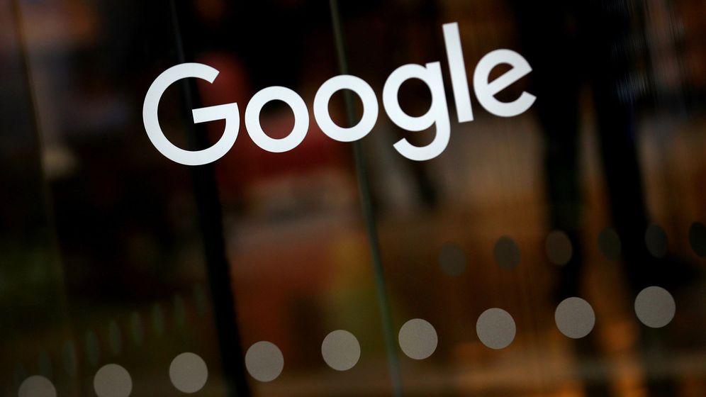 Foto: Logo de Google en sus oficinas en Londres. (Reuters)