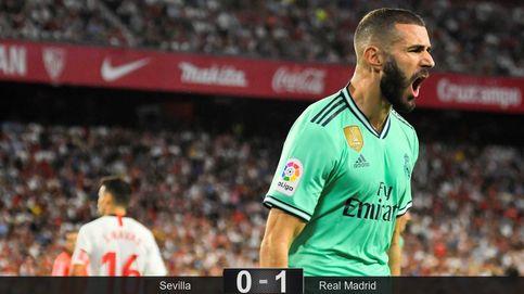 Así gana el Real Madrid más obrero y por qué Benzema ya muerde como '9'