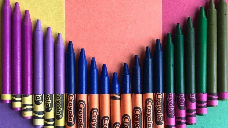 Las ceras de tu infancia vuelven a ti. (Instagram @crayola)