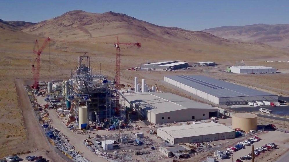 Foto: Obras de la biorrefinería en Nevada. (Fulcrum)