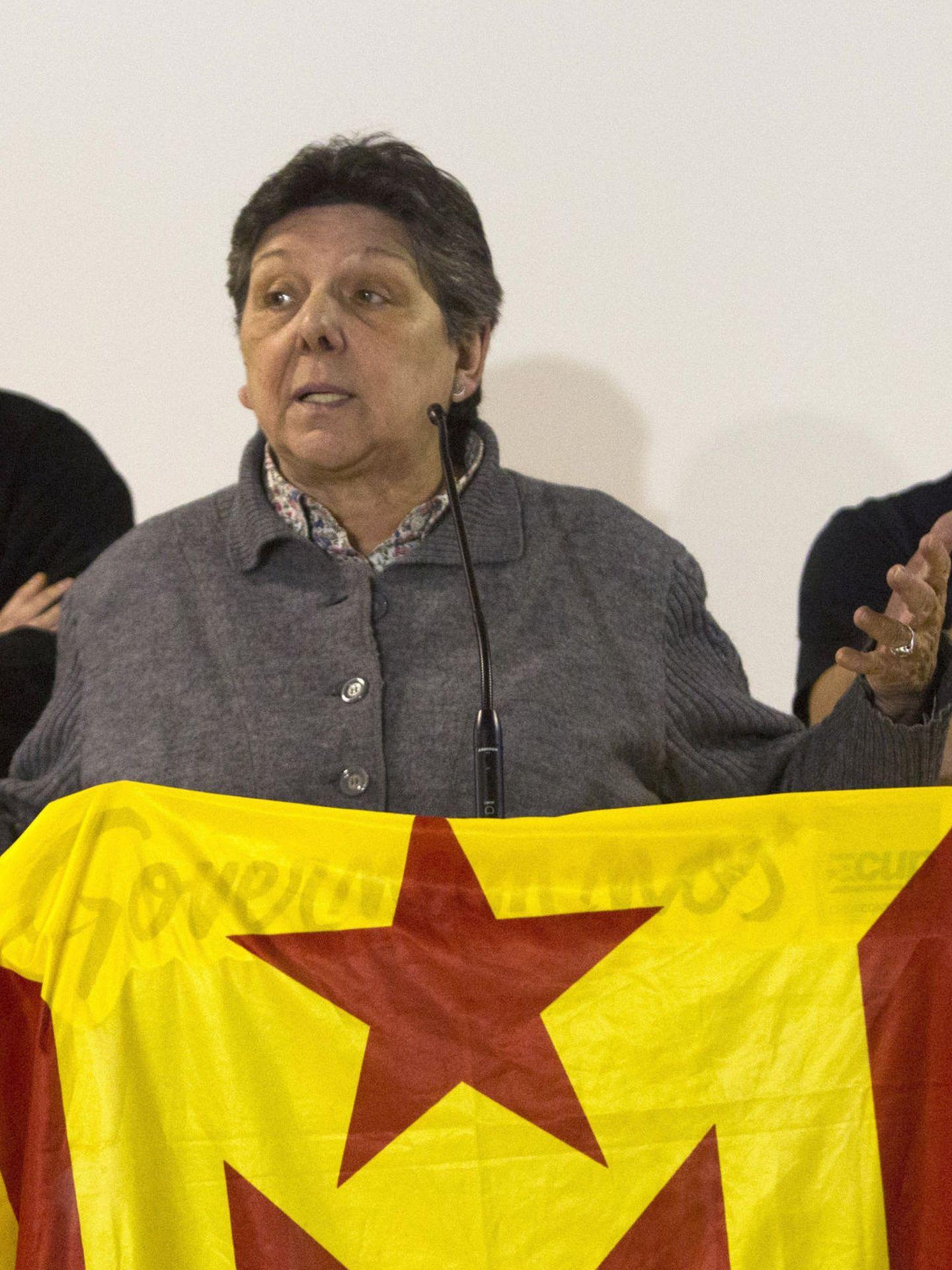 Gabriela Serra, de la CUP (EFE)