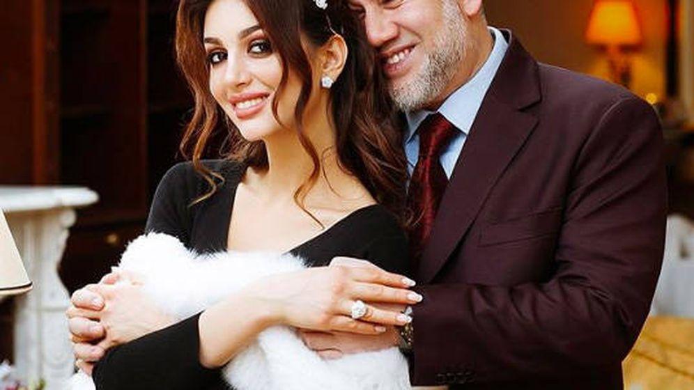Foto: Mohamed V con Oksana Voevodina. (@rihanapetra)
