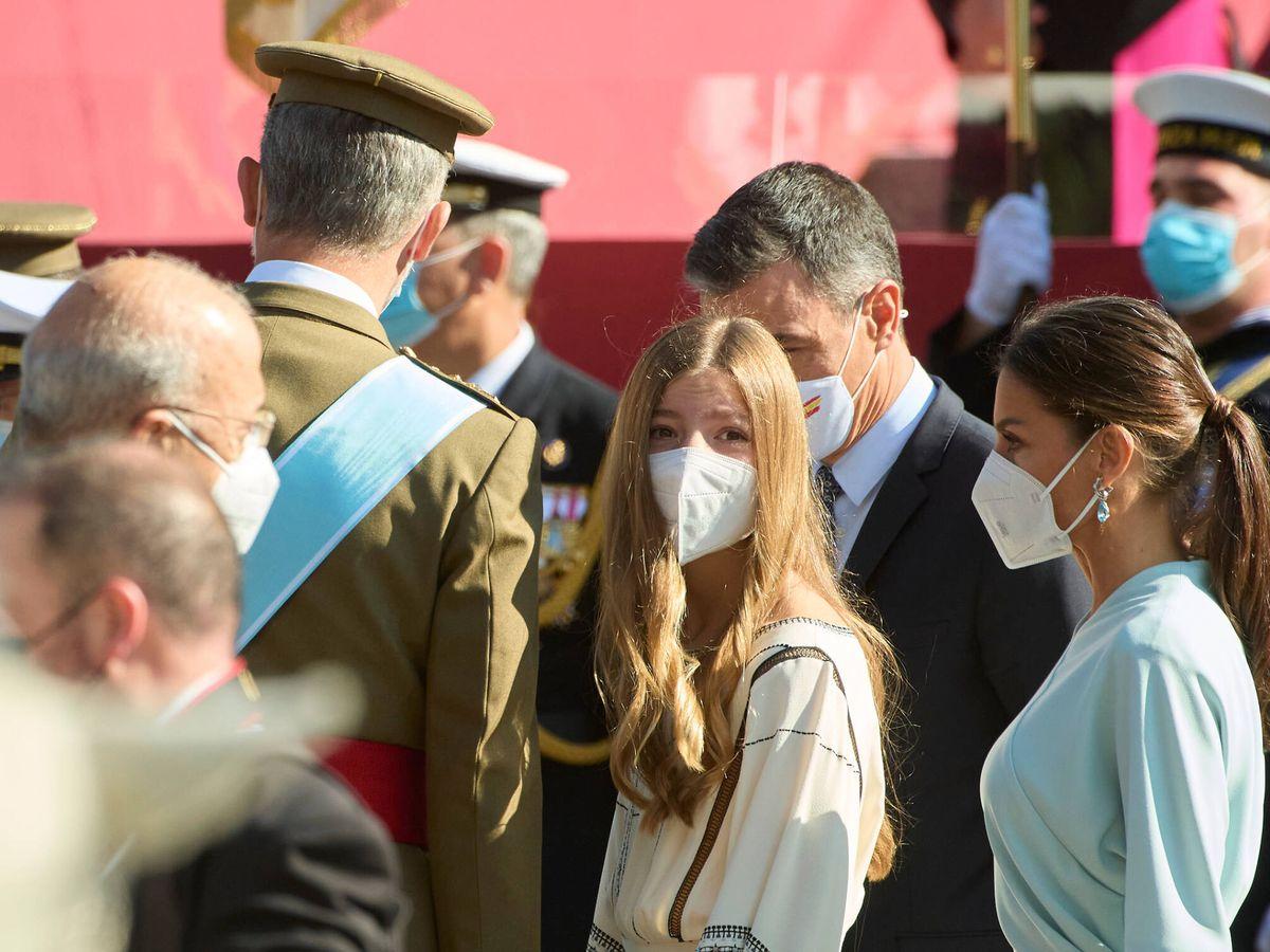 Foto: La infanta Sofía, en la celebración del Día de la Fiesta Nacional. (Limited Pictures)