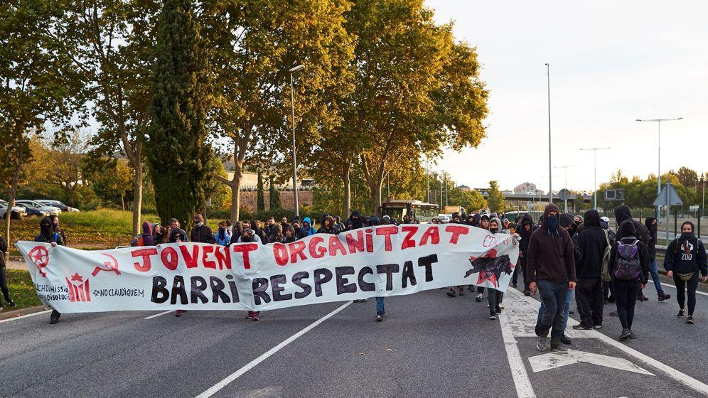 Foto: Imagen de una protesta durante la huelga general en Cataluña del pasado viernes 18 de octubre (EFE)