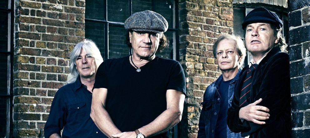 Foto: AC/DC presentará su nuevo disco con una gira mundial en 2015 (Efe/Sony Music)