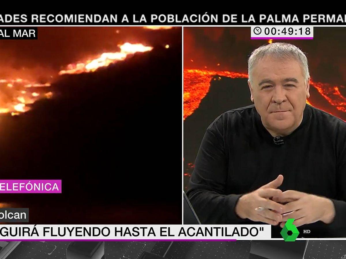 Foto: Antonio García Ferreras, en 'La Sexta Noticias'. (Atresmedia)